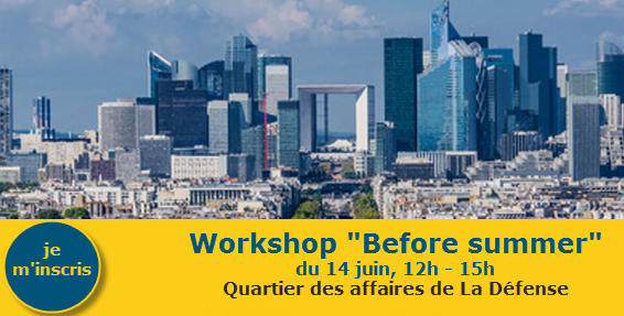 PARIS la defense worKshop activassistante 14 juin 18