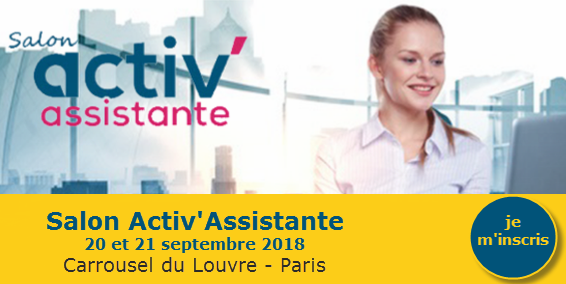 Paris SALON activassistante SEPT 2018