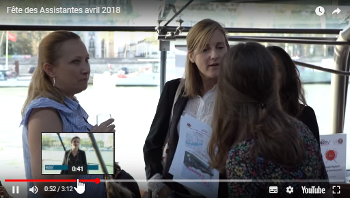 Video Fete des Assistantes - avril 2018 activ assistante