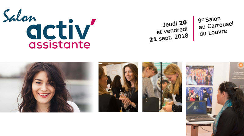 Salon Activ Assistante 20 et 21 septembre 2018