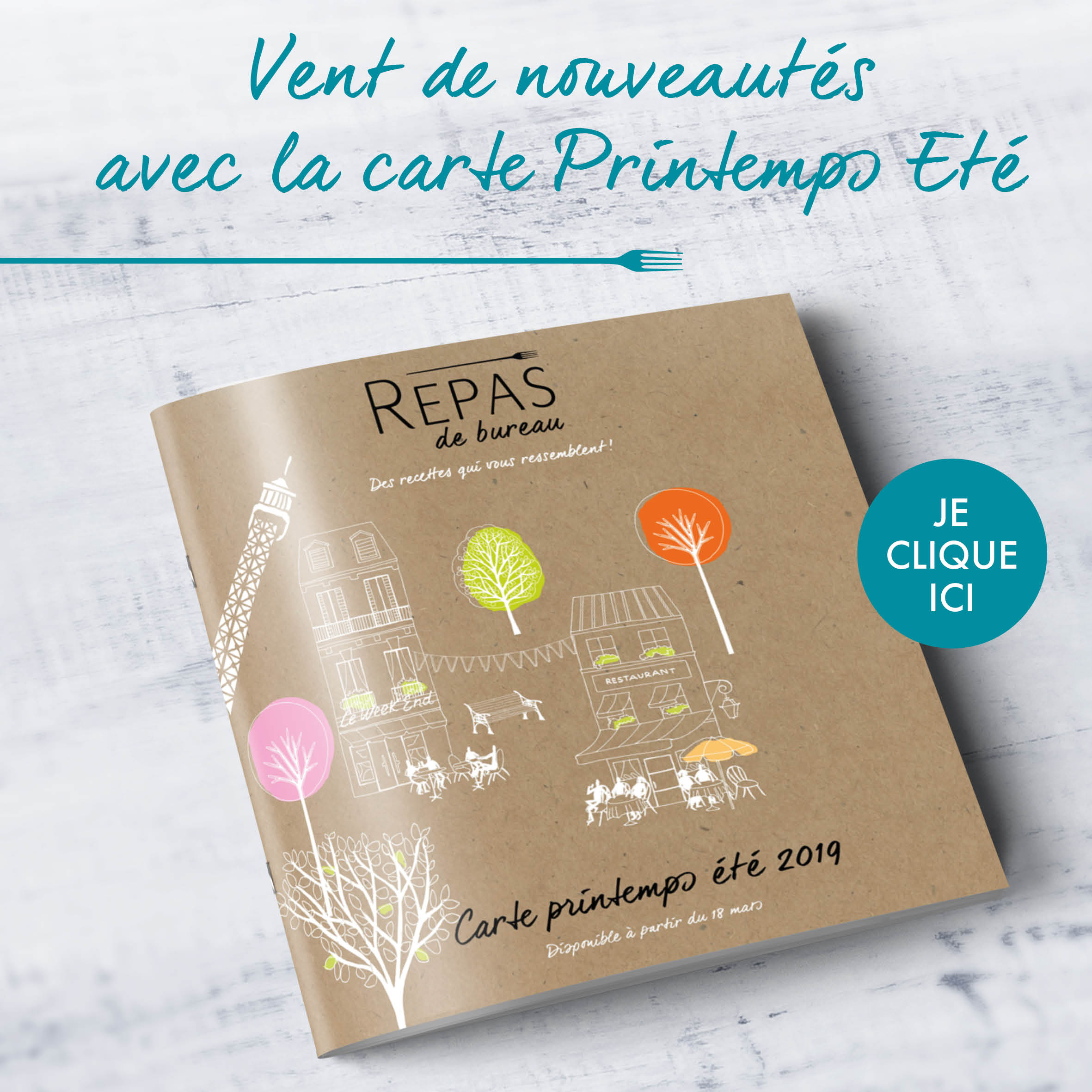 Catalogue printemps ete repas de bureau