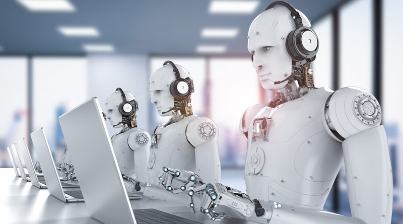 Robot reserve une table de restaurant - activ assistante by reunir - iStock