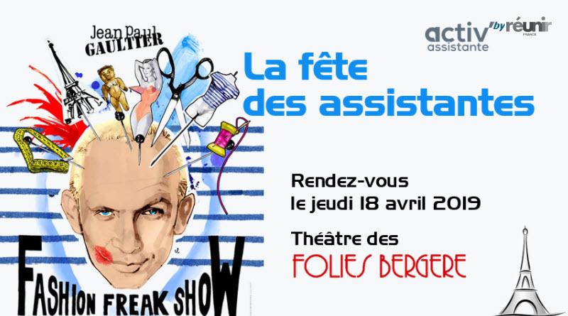 fete des assistantes Folies Bergere Paris 18 avril 2019