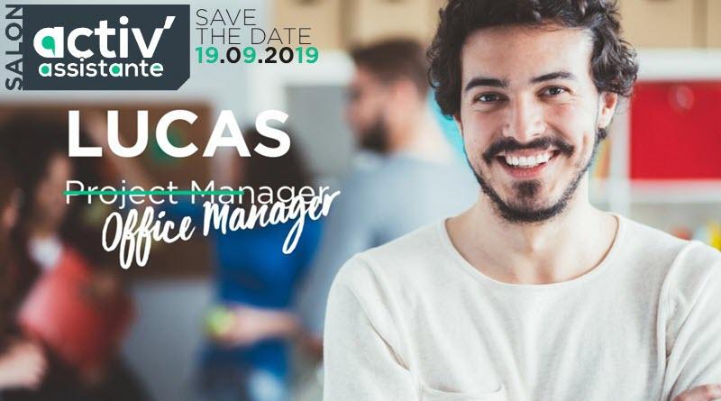 _INVITATION 10e salon activ'assistante - invitation LUCAS - 19 septembre 2019 Paris Palais Brongniart