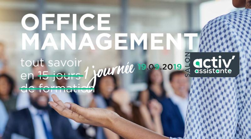 Office Management Salon Activ Assistante 19 septembre 2019 Palais Brongniart
